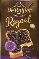 De Ruijter Hagelslag Extra Puur and Large Royale Sprinkles 380g