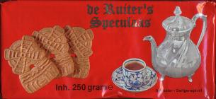 De Ruiter Speculaas Molens Windmill Cookies Large 250g