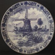 Wallplate Mill Decor 18cm