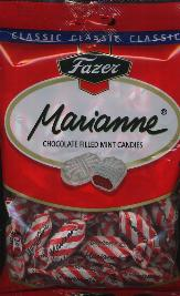 Fazer Marianne Wrapped Mints with Chocolate Centers 220g Finland