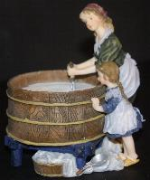 Figurine Cheese Making