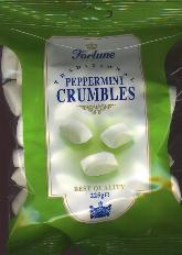Fortuin Fortune Peppermint Crumbles -- 225g -- Candy