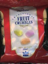 Fortuin Fortune Fruit Crumbles -- 225g