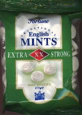 Fortuin Fortune English Mints -- Extra Strong -- 275g