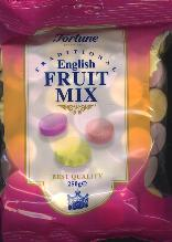 Fortuin Fortune English Fruit Mix -- 250g -- Candy