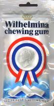Wilhelmina Chewing Gum - Sugar Free 70g