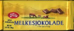 Freia Melkesjokolade Milk Chocolate 100g Made in Norway
