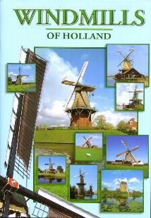 Windmills of Holland--Book in English