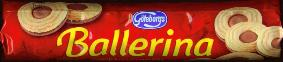 G�teborgs Ballerina Cookies with Hazelnut Cream Filling 180g