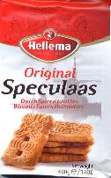 Hellema Speculaas Original Dutch Spiced Cookies 400g