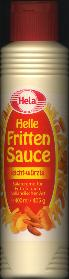 Hela Frite Sauce French Fry Sauce 400ml