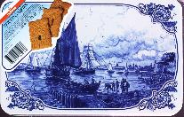 Hellema Speculaas Spiced Cookies 400g  In Tin