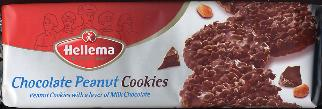 Hellema Chocolate Peanut Cookies 150g