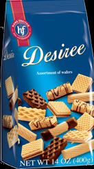 Hans Freitag Desiree Assortment of Wafers 400g