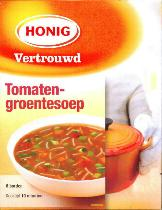 Honig Tomato Vegetable Soup -- Tomaten-groentesoep 90g