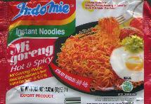 IndoMie Mi Goreng Pedas Hot & Spicy Instant Noodles 80g