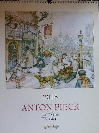 2013  Anton Pieck Kalender -- Calendar measures 13 X 17 inches
