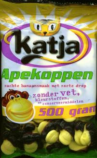 Katja Apekoppen -- Soft Banana Flavor Sweet Licorice 500g