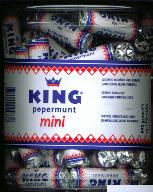 King Pepermunt Mini 110 stuk 990g