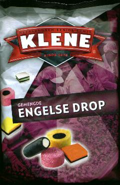 Klene Engelse Drop -- English Licorice 1.25 Kilo