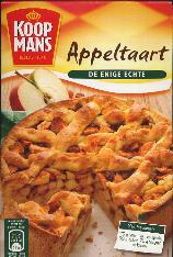 Koopmans Appeltaart mix  --Apple Tart-- 440g