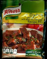 Knorr Goulash Beef Stew and Recipe Mix