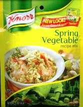 Knorr Spring Vegetable and Recipe Mix 3 Servings