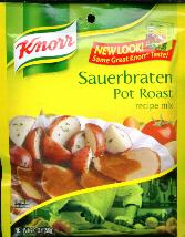 Knorr Sauerbraten -- Pot Roast Mix
