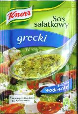 Knorr Salad Dressing Greek Style 9g