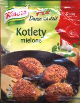 Knorr Kotlety Mielone 65g Fix for meatballs