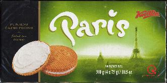 Koestlin Paris Punjeno Čajno Pecivo -- Filled Tea Biscuit