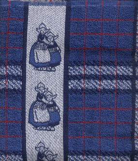 Kitchen Towel Volendam - Blue