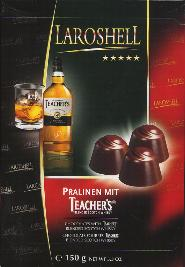 Laroshell Pralines with Teacher's Blended Scotch Whiskey 150g