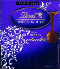 Lindt Lindor Dark Chocolate Truffle Case of 120