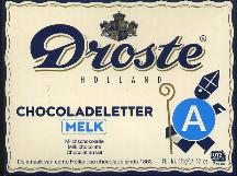 Droste Milk Chocolate Letter Large  A
