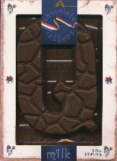 Droste Milk Chocolate Letter Large  Q