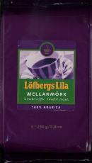 Lofbergs Lila Mellanmork Swedish Blend Coffie 250g