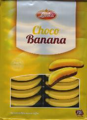 Lonka Choco Bananas with natural flavors 200g