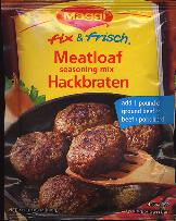 Maggi Hackbraten Mix for Meatloaf for 1 lb of beef