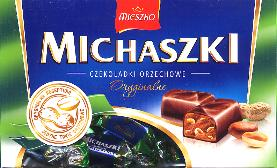 Mieszko Michaszki Nut-flavored Chocolates 440g