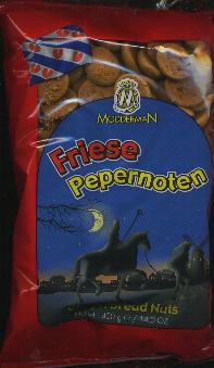 Friese Pepernoten --Gingernut Cookies Bites--400g