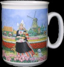 Mug Tulip Girl 3 3/4 inches tall