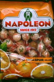 Napoleon Sinaspur Orange Candy bag 225g