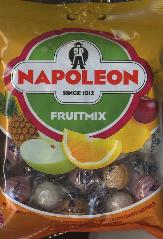 Napoleon Fruitmix Candy bag 150g Natural colors and flavors.