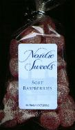 Nordic Sweets Soft Raspberries 8 oz (Sweden)