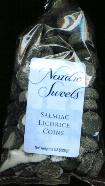Nordic Sweets Salmiac Licorice Coins 8 oz (Denmark)