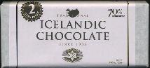 Nói Síríus Traditional Icelandic Chocolate 70% 200g 2 bars