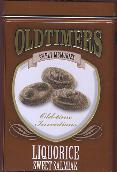 Oldtimers Liquorice Sweet Salmiak in Tin -- 250g