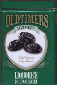 Oldtimers Liquorice Original Sweet in Tin -- 250g