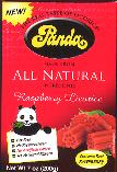 Panda Raspberry Licorice 200g